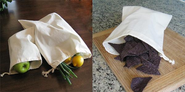 ACME Bags - Organic Cotton Muslin Bags