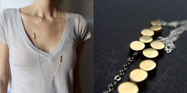Lauren Haupt Jewelry - Draped Gold Drops Necklace