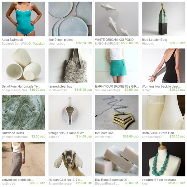 Pawling - Aqua-ahhh Etsy Treasury