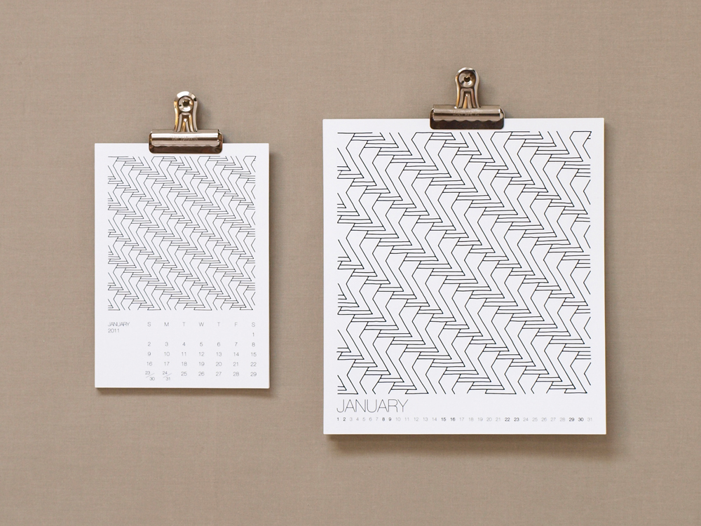 PAWLING | print studio - 2011 Calendar