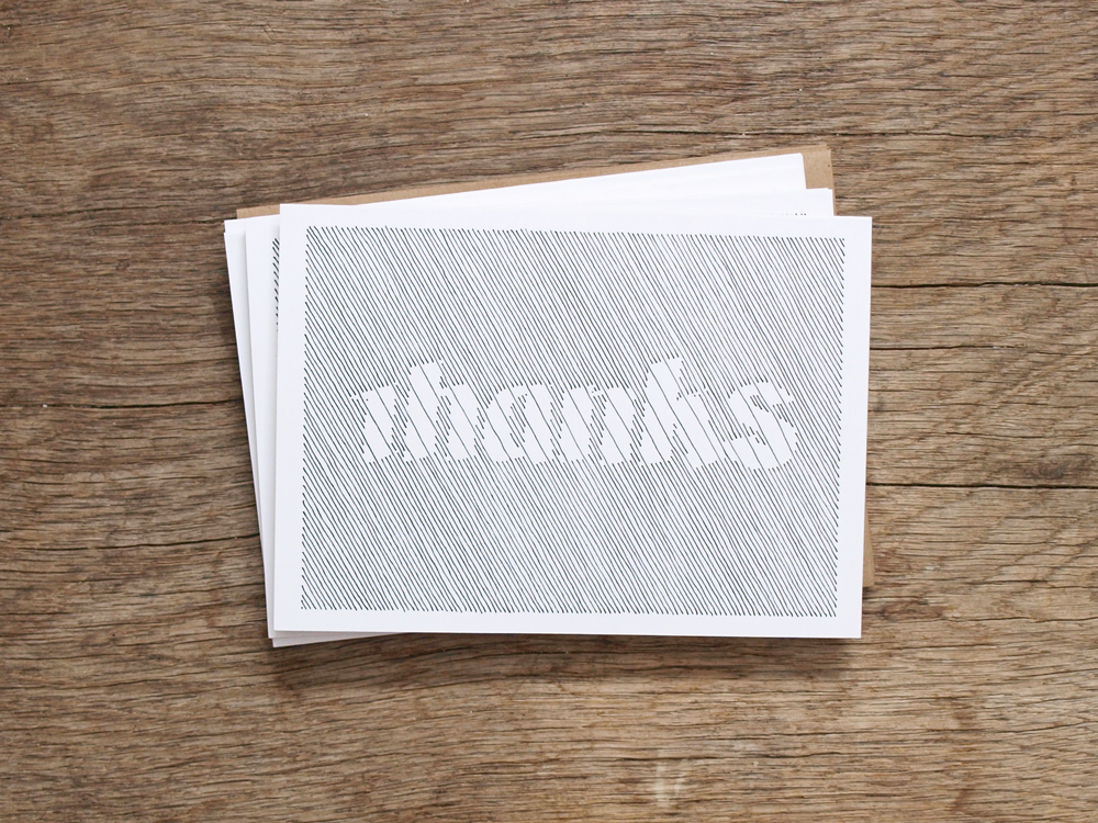 PAWLING | print studio - thank you cards