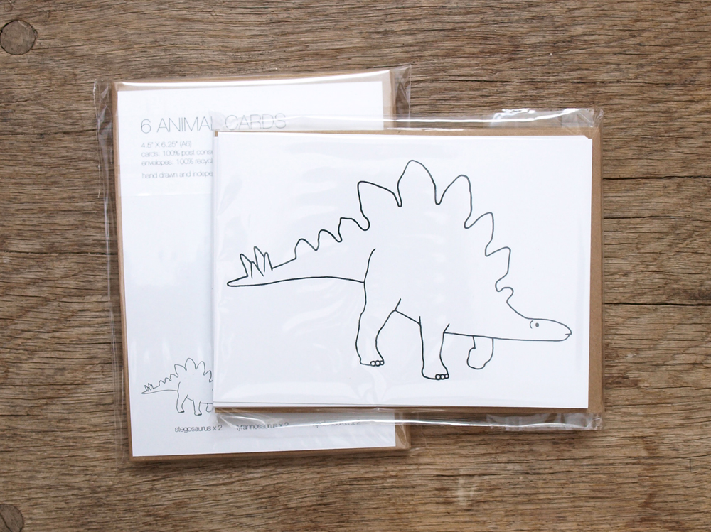 PAWLING | print studio - Dinosaur Cards