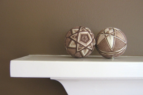 Julie and Co. - Modern Hand Embroidered Japanese Temari Balls