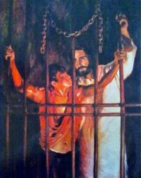They learn about Christ who Never Never Never leaves them (in prison ministry)