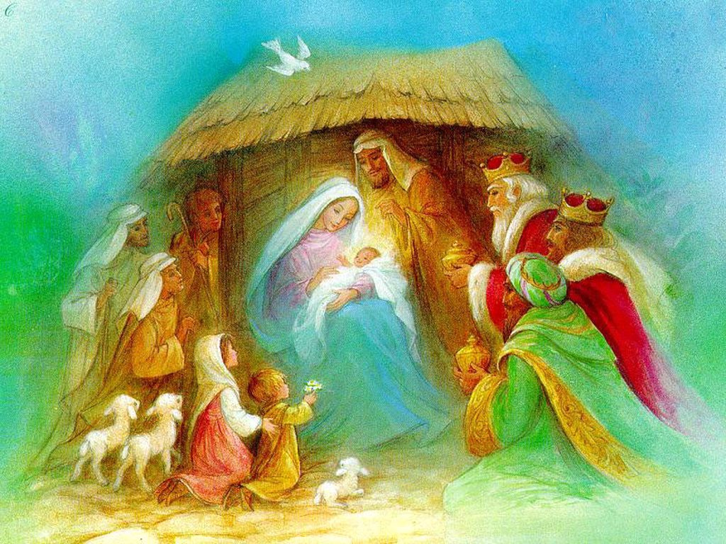 Saint Francis of Assisi is credited with creating the first nativity scene