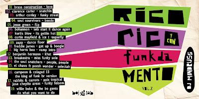 V.A. - RICO RICO Y CON FUNKDAMENTO VOL. 2 (D.J. MINDRUSS -2009)