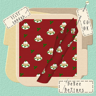 Christmas Paper Plum Pudding Red+Plum+Pudding+Preview