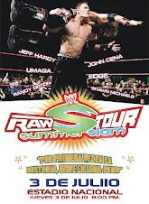 Cobertura WWE en Lima Perú ..   Mr. Kennedy es el luchador que promocionara a la marca Raw