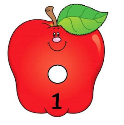 Siempre Educadora Cada manzana guarda su gusanito Nmeros