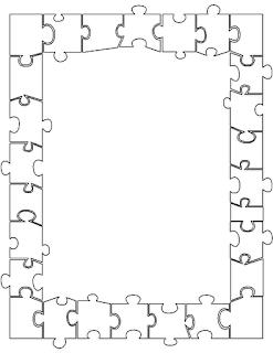 Siempre educadora cuadros y bordes - Puzzles decorativos ...