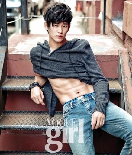 Foto Sexy KIM SOO HYUN pada majalah Vogue Girl