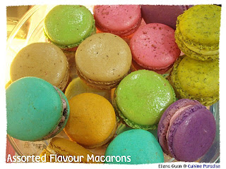 Cuisine Paradise Tea-time: Assorted Flavour Macarons - 马卡龙系列 :  shopping mothers day gift color