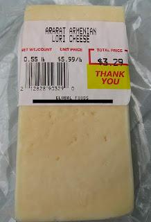 Exotic eating ararat armenian lori cheese for Ararat armenian cuisine
