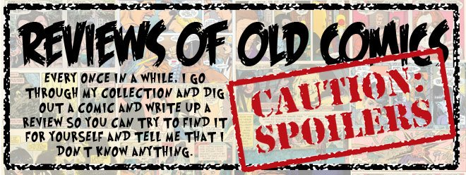 Reviews of Old Comics