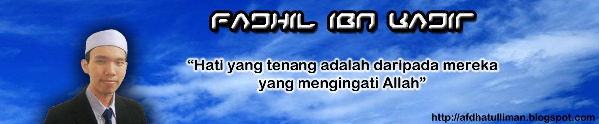 Fadhil Ibn Kadir