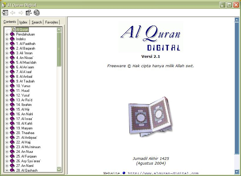 Al-Qur'an Digital Versi 2.1 |Free Download Al Qur'an Digital Terbaru ...