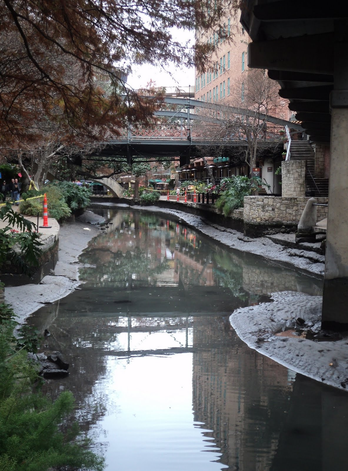 Strange In San Antonio Draining The River Walk