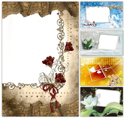 Beautiful Frameworks for Wedding Album