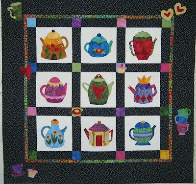 Applique Teacup Quilt Pattern 171 Free Knitting Patterns