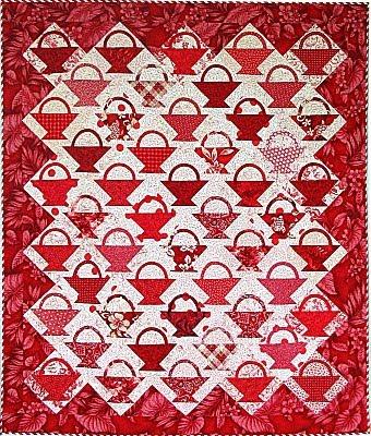 Quilt Inspiration: Basket Quilts Part I : basket quilt - Adamdwight.com
