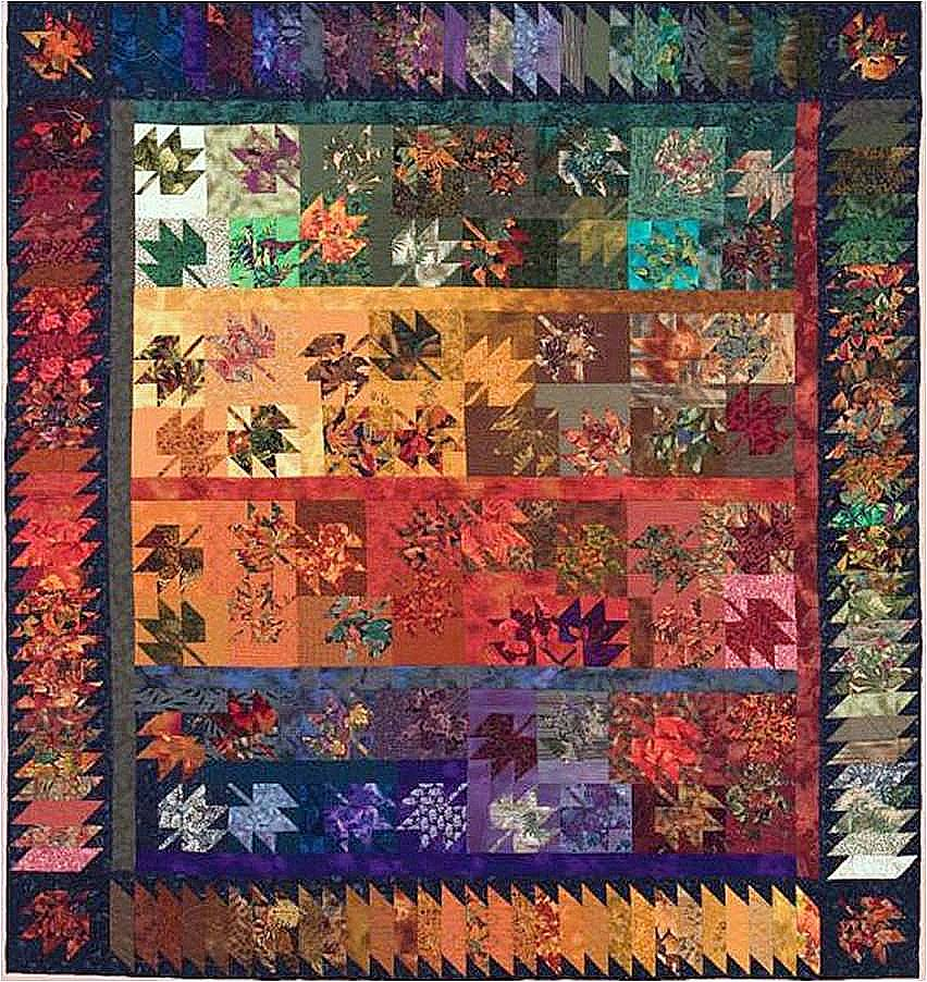 Quilt Template Leaves : Quilt Inspiration: Autumn Leaves Quilts
