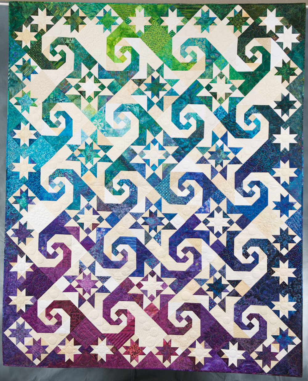 Quilt Inspiration Straight Piecing Patterns That Appear Curved