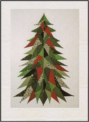 Fishing Line Christmas Tree Patterns http://quiltinspiration.blogspot.com/2010_12_01_archive.html