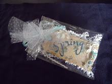 Teal Spring Tag