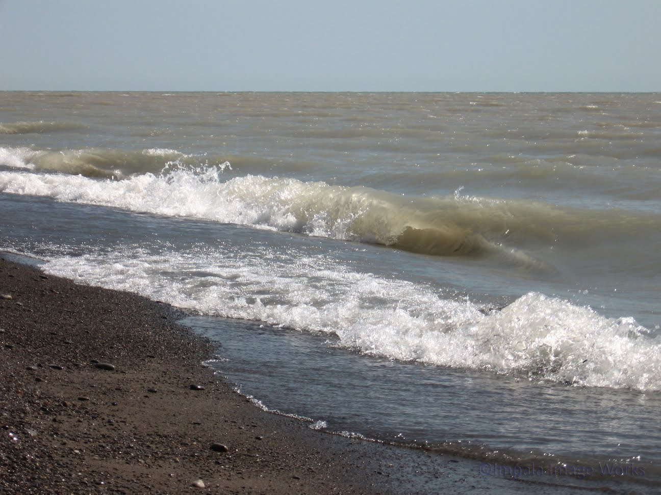 Waves On Lake Erie