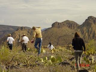 Arizona Hiking BLACK TOP MESA
