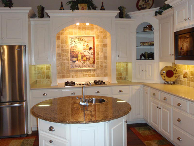 The appealing Country kitchen backsplash image digital imagery