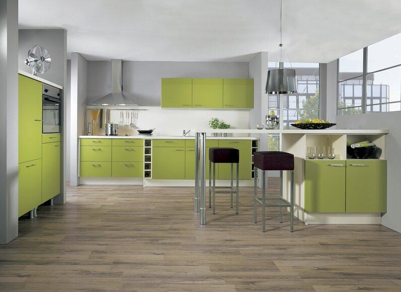 Cabinets for kitchen green kitchen cabinets for Green and white kitchen designs