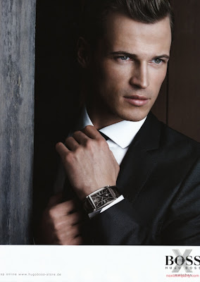 NEXT COMPANY MODELS BLOG: Hugo Boss Black F/W 09.10 : Lars ...