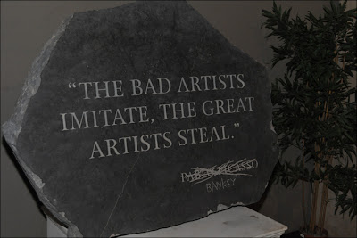 banksy źli artyści, talent