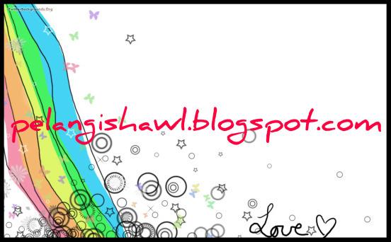 pelangi shawl ^_^