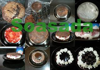 Mini pastel de chocolate con fresas Mis+im%C3%A1genes1