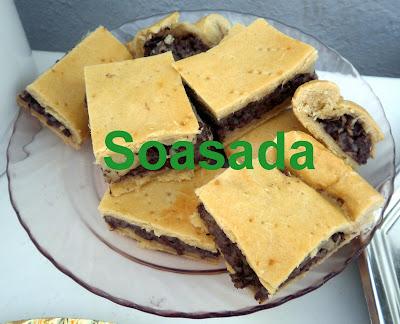 Empanada de morcilla y pera P9060372