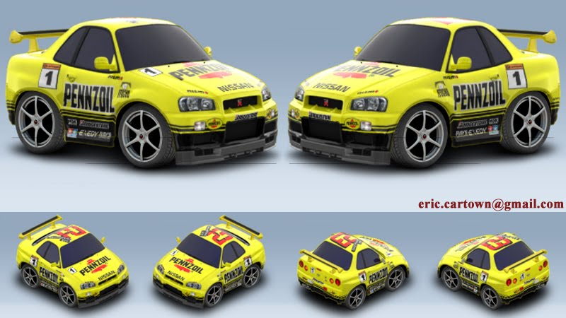 how Nissan+skyline+car+town+graphics R- was my first race car here,