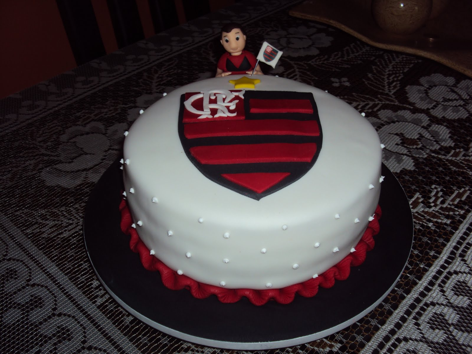Cakes Bolos Artsticos Bolo Do Flamengo Mengo Rs