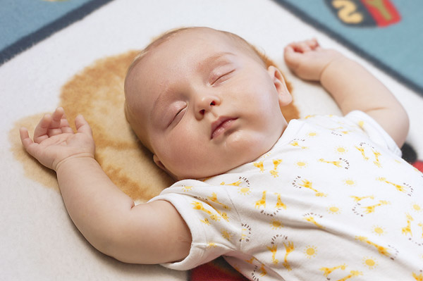 Learning Buzz!: New born babies learn even in their sleep Sleeping