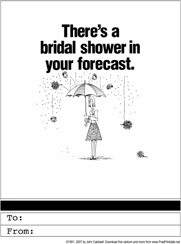 We found more FREE printable Bridal Shower Invites for you