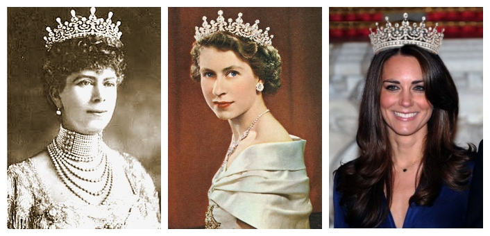 William kate and the italian observer toto tiara 6 for Quanto costa la corona della regina elisabetta