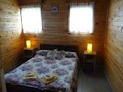 Habitacion principal de la cabaña