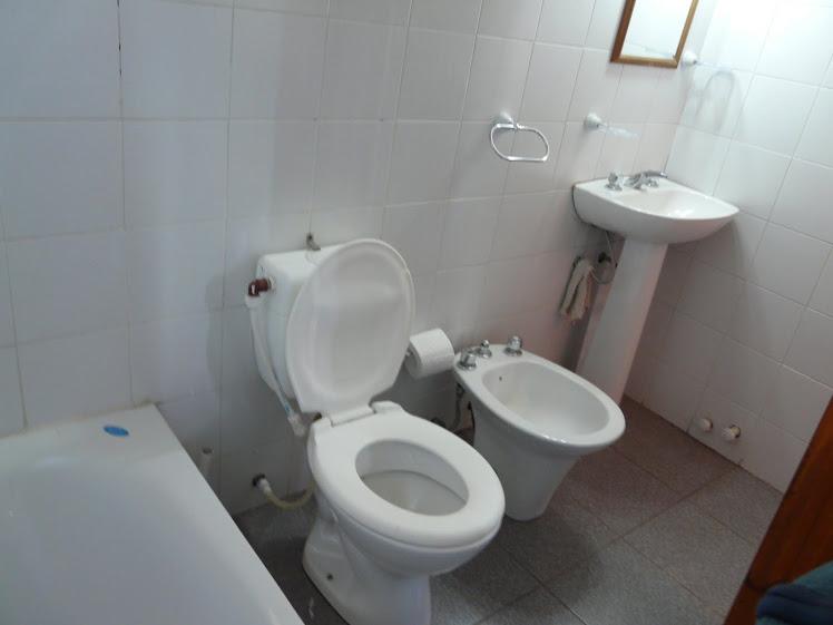 Cabaña con baño completo