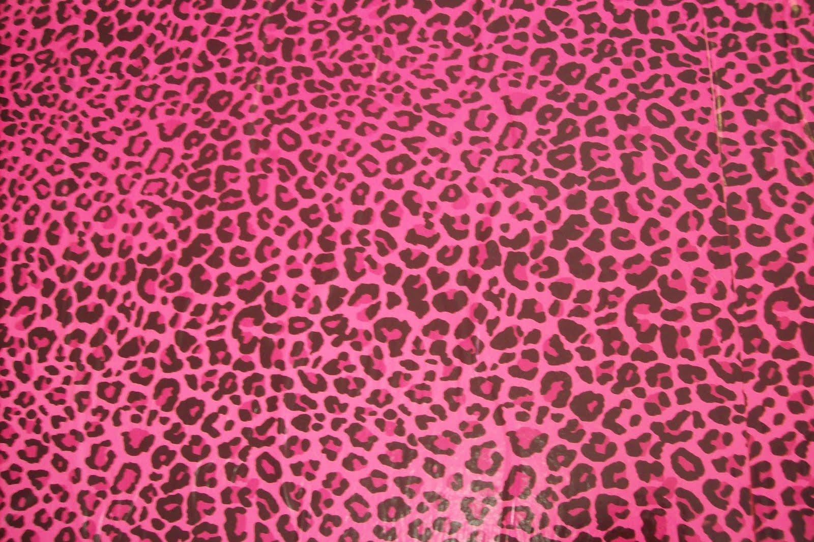 Marcadores cenário onça rosa papel de presente