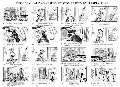 Clarke Tortoise Vs Hare Storyboard 1