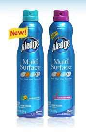 Pledge Multi Surface Cleaner Giveaway!