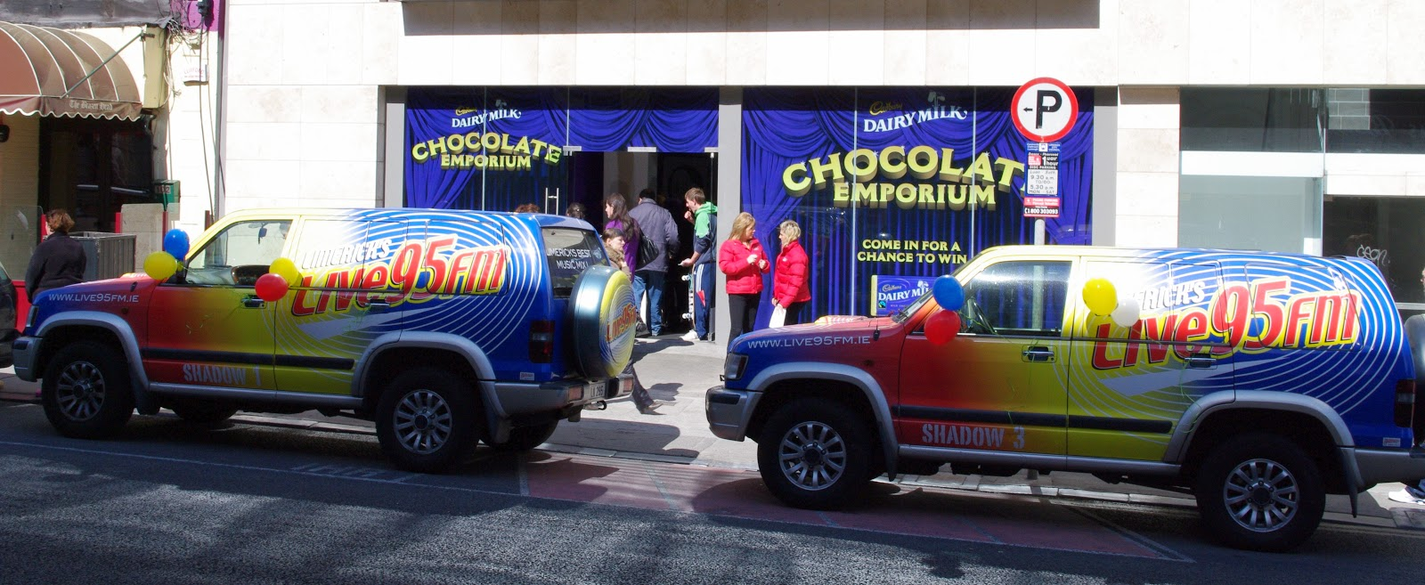 Cadbury Chocolate Emporium Promotion