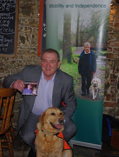 Eoin Hand and Gypsy at the Launch of After The Ball Charity Cd in Limerick