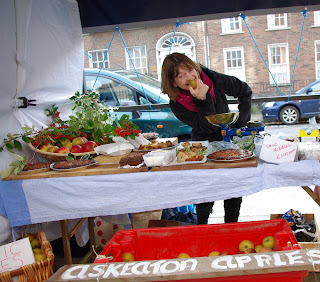 Askeaton Apples at Winterfest Georgian Market in Limerick